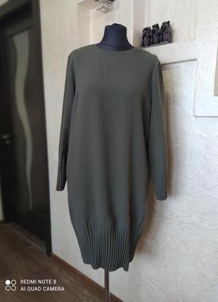 Платье хаки cos