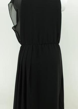 Платье черное шифоновое купить