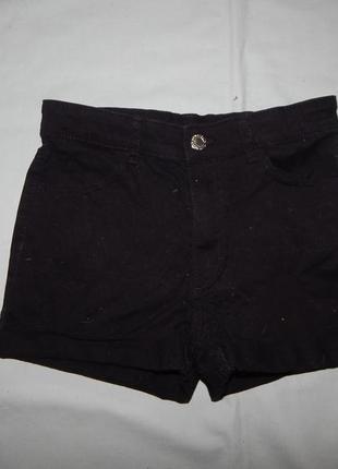Шорты джинсовые  модные на 10-11 лет