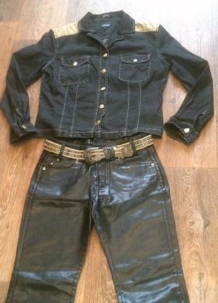 Trussardi jeans( италия)- джинсовый комплект