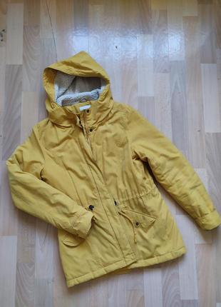 Желтая куртка old navy