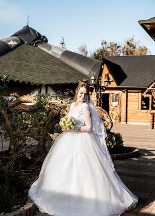 Сукня весільна2 фото