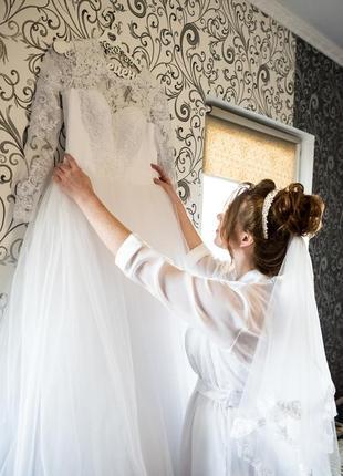 Сукня весільна4 фото