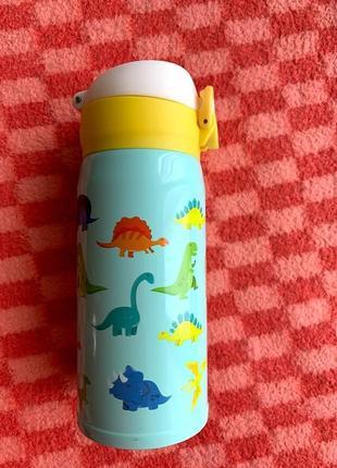 Детский термос funny dinosaurs 350 мл flamberg