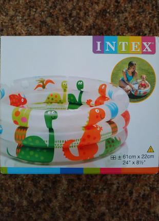 Бассейн надувной для малышей