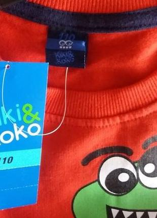 Толстовка, kiki&koko, 110см3 фото