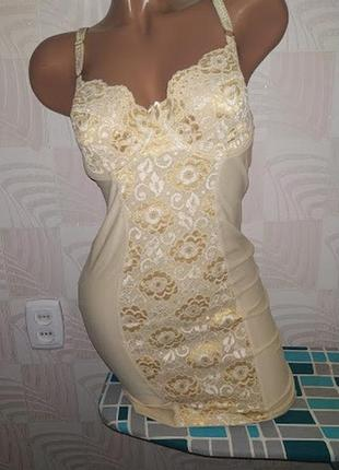 1+1=3 чудове коригувальне плаття (утяжка) від m&s 75d
