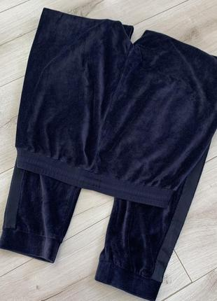 Бархатные штаны джогеры zara2 фото