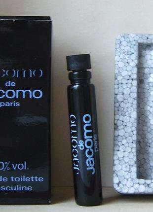 Jacomo de jacomo - edt - 2 мл. оригінал. вінтаж