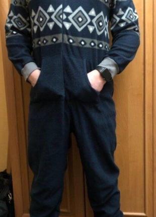 Пижама слип кигуруми комбинезон ромпер р.l