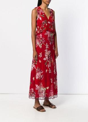 Шикарное платье/ сарафан в цветы