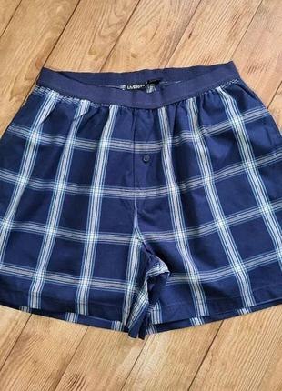 Мужские шорты для дома / сна, размер s, цвет темно-синий