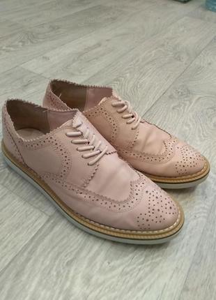 Лоферы, броги,  туфли
