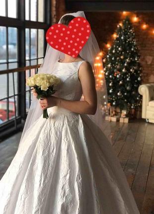 Свадебное платье в европейском стиле.