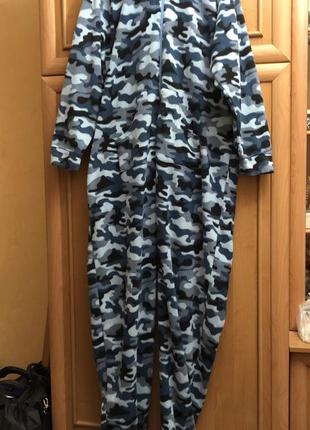 Пижама слип кигуруми комбинезон ромпер р. 4xl-5xl наш 58-60, рост 190-210см