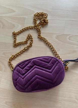 Поясная сумка и сумка на цепочке от фирмы gepur.
