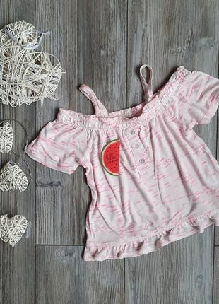 Блуза с оборками новая matalan 3-4г