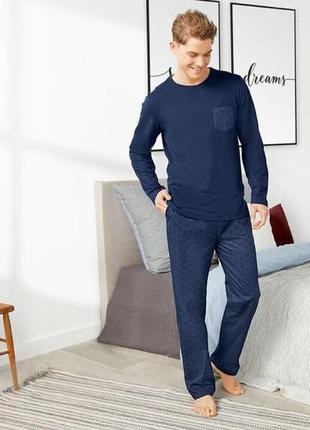 Мужская пижама livergy m,l,xl