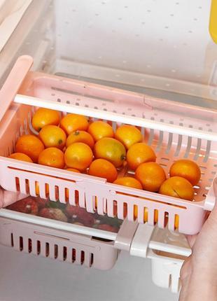 Органайзер для холодильника - подвесная полочка для хранения продуктов