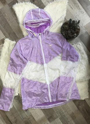Бігова куртка nike оригінал з напівпрозорити вставками