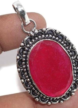 Индия, кулон - подвеска с рубином