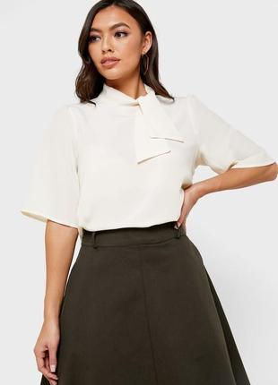 Женская блуза с бантом vero moda