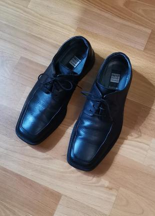 Кожаные туфли, классика, ортопедические