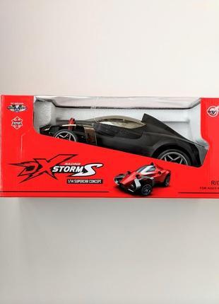 Огромная черная футуристическая гоночная машина ❗33❗для мальчиков