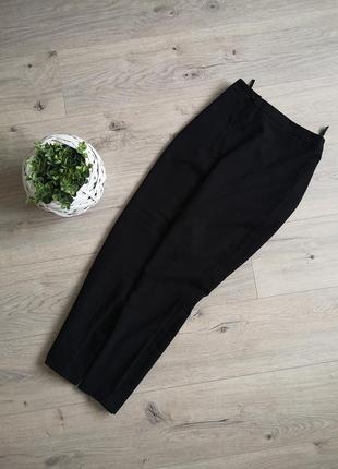 Классические зауженные повседневные брюки с высокой талией