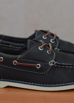 Кожаные мокасины, топсайдеры, туфли timberland, 36 размер. оригинал