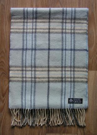 Шерстяной шарф, 100% шерсть