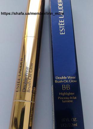 Корректор консилер хайлайтер estee lauder double wear brush-on glow bb оригинал