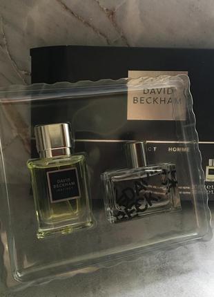 David beckham instinct homme подарочный парфюмерный мужской набор