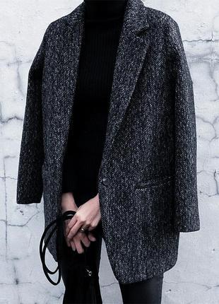 Очень крутое пальто бойфренд kiabi s m