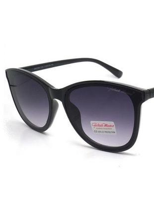 Солнцезащитные очки бабочка gabriela marioni в черной оправе