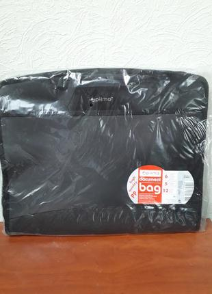 Папка-портфель пластиковая а4 optima