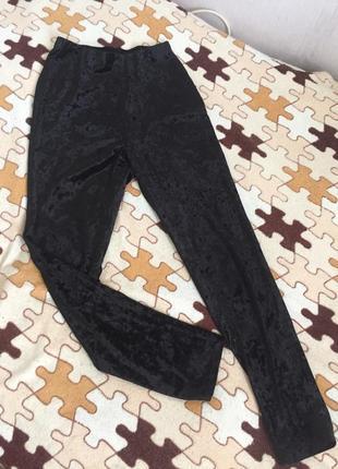Бархатные штаны вельвет лосины