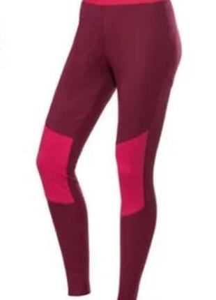 Спортивные термолосины crivit, размер l/xl, цвет бордовый