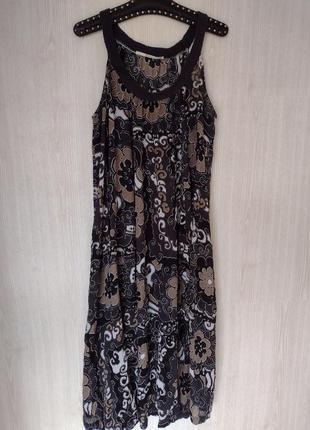 Хлопковое платье сарафан плаття