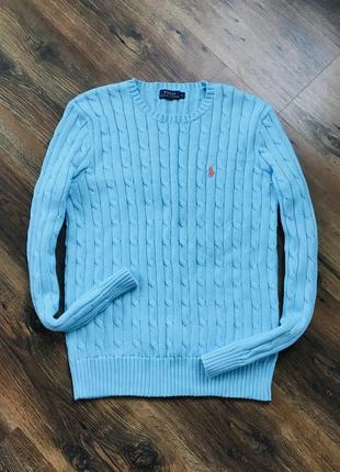 Брендовый свитер джемпер ralph lauren оригинал