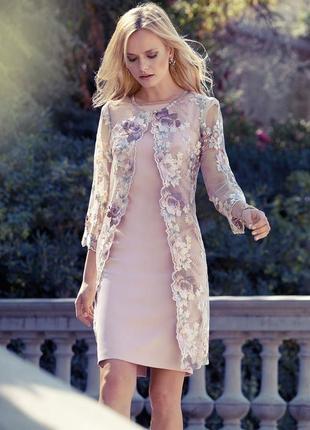 Вишита накидка на плаття , неймовірної краси, німеччина , розмір м-л🔥