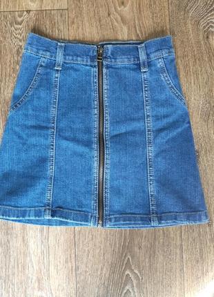 Новая мини юбка для девочки 140 см рост