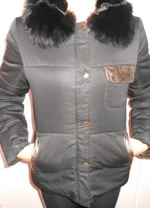 Курточка черная