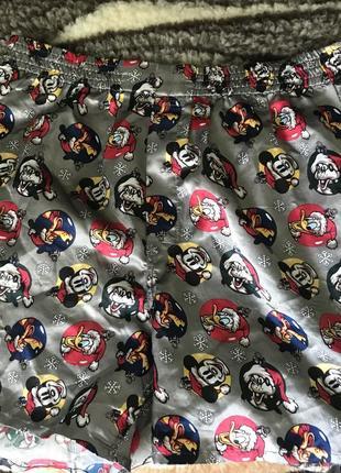 Шортики для дома пижамные (под шелк)