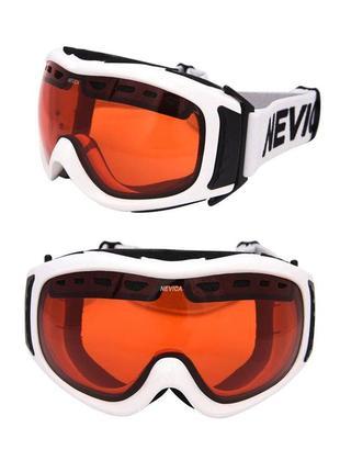 Окуляри лижні nevica маска очки лыжные оригінал uv400 для сноуборда унісекс