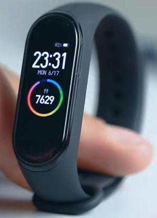 Фитнес браслет трекер smart band m5 умные смарт часы
