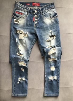 Стильные джинсы стрейч
