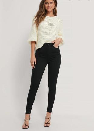 Черные джинсы скинни, чорні скінні джинси