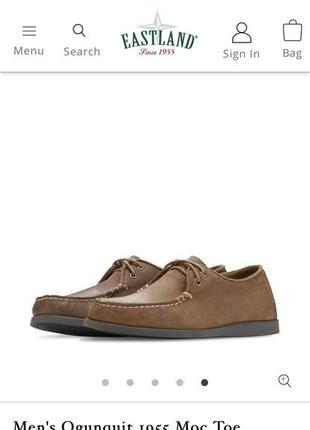 Оксфорди туфлі ботинки eastland
