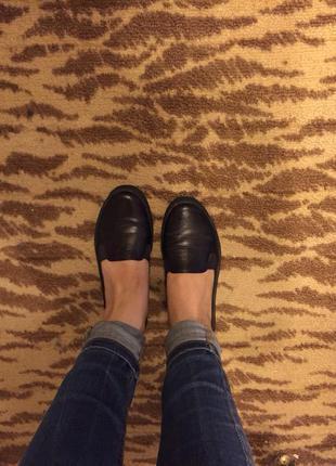 Туфельки из натуральной кожи